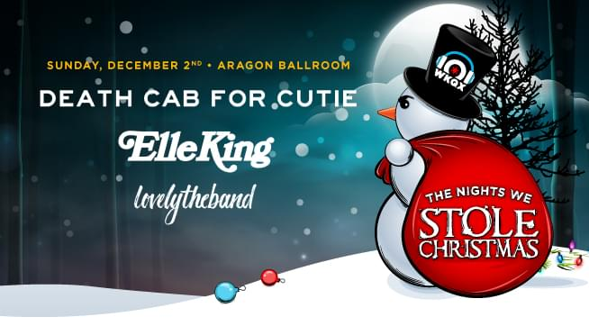 the nights we stole christmas are back this year were bringing you four amazing nights at aragon ballroom on november 29th through december 2nd - On This Night On This Very Christmas Night