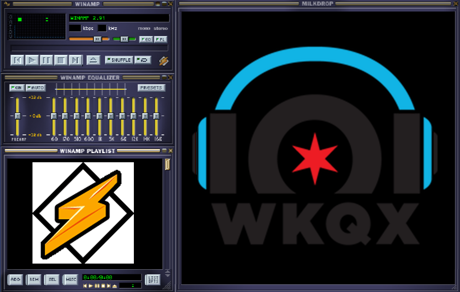 Kick it old school with this dope WinAmp throwback.