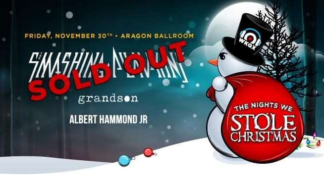 11/30/18 – The Nights We Stole Christmas – Night 2 – SOLD OUT