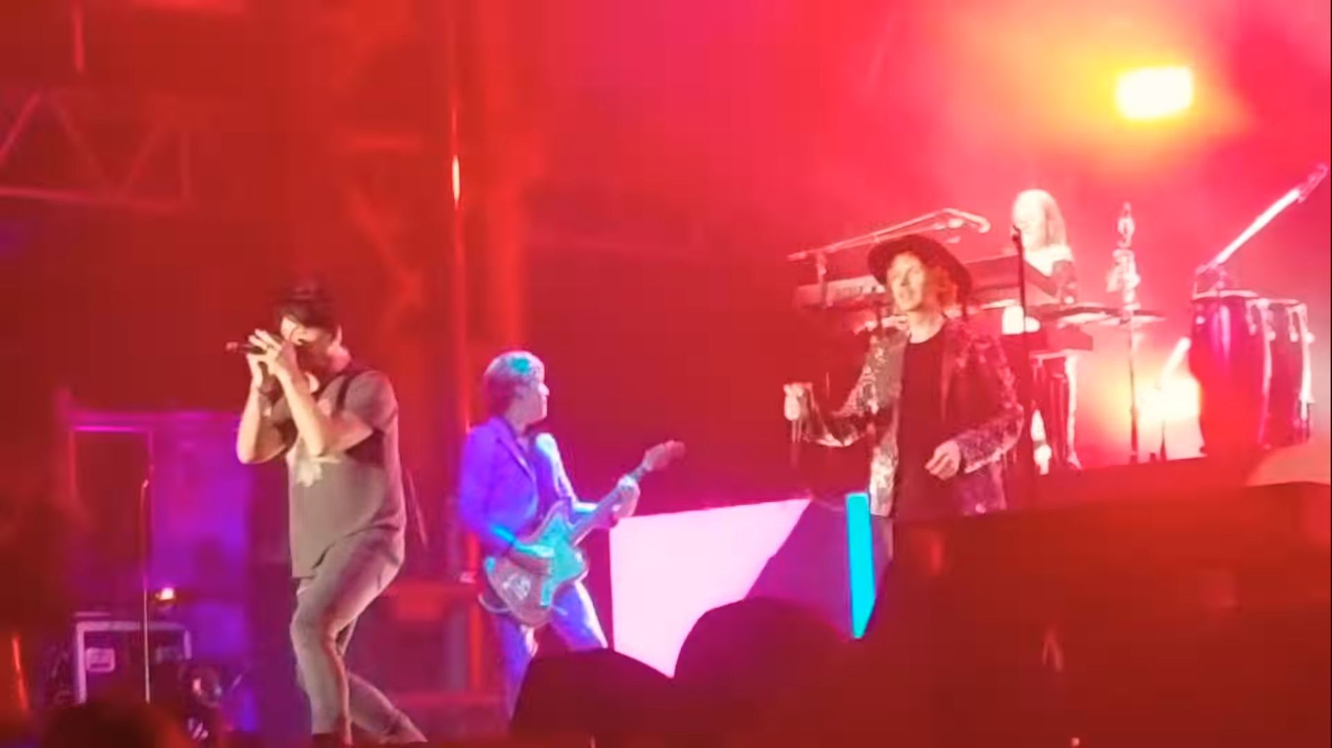 Fans capture Beck & Gary Numan joining forces at RiotFest