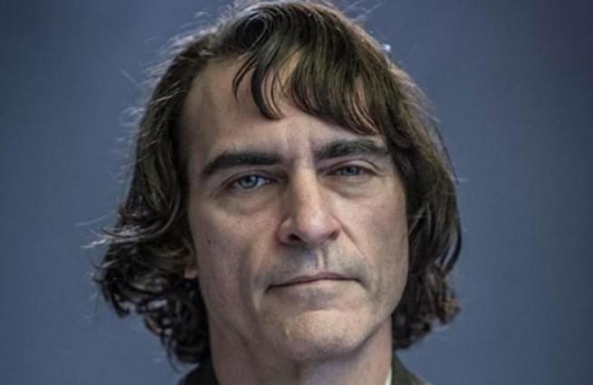 First look at Joaquin Phoenix as the Joker in full makeup