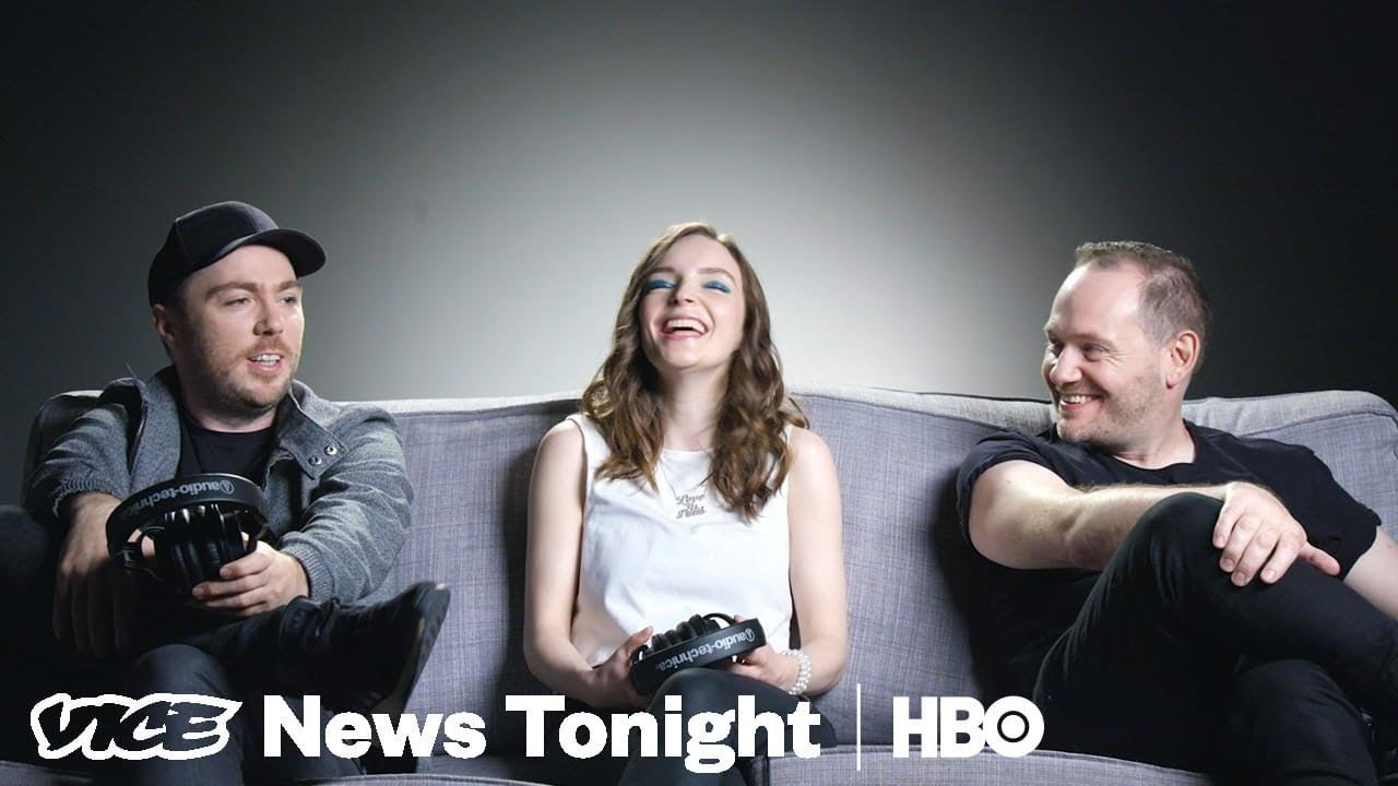 Watch CHVRCHES review music without knowing who it's from
