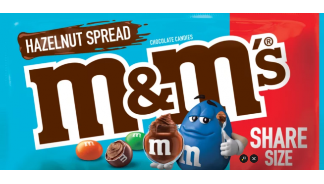 """M&M's Filled with """"Nutella"""" Are Coming Next Year"""