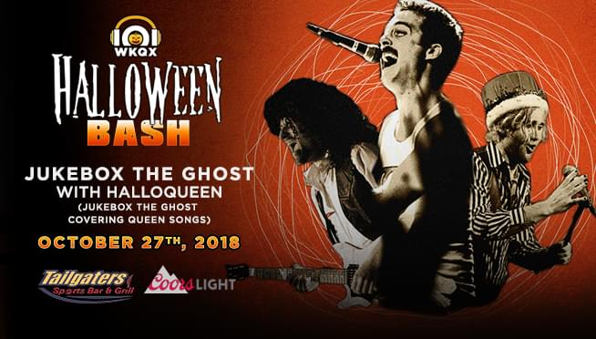 10/27/18 – Halloween Bash with Jukebox The Ghost