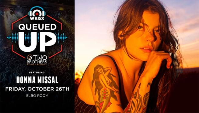 10/26/18 – Queued Up Artist Showcase with Donna Missal