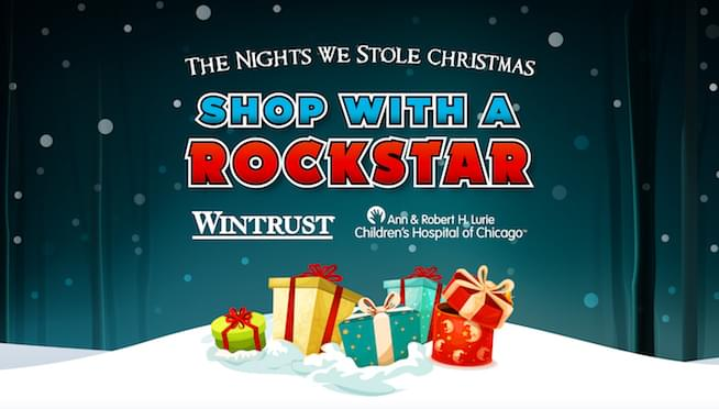 Shop With A Rockstar before The Nights We Stole Christmas!