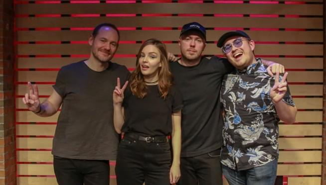 CHVRCHES – The Lounge – Meet and Greet