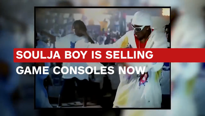 Rapper Soulja Boy released a video game console, Many question it's legitimacy