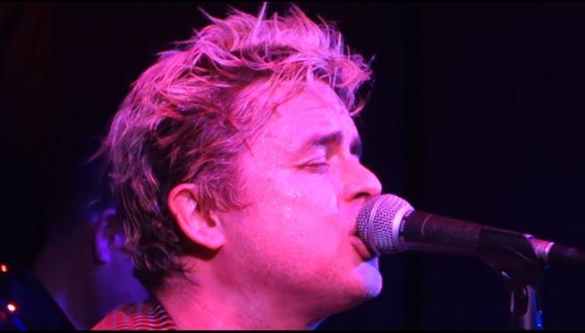 "VIDEO:  Green Day take on Nirvana's ""Drain You"" in cover gig"