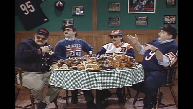 DA BEARS!: Watch the hilarious history of SNL's 'Superfans'