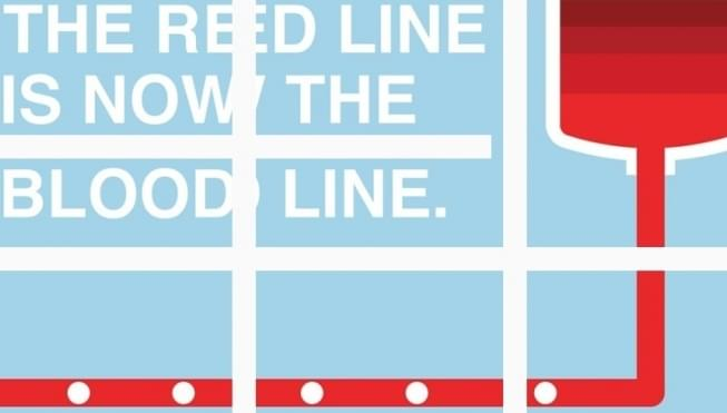 Red Line transforming to the Blood Line