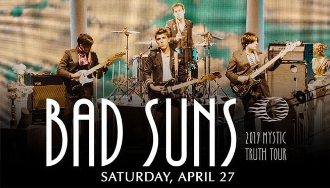 4/27/19 – Bad Suns – SOLD OUT