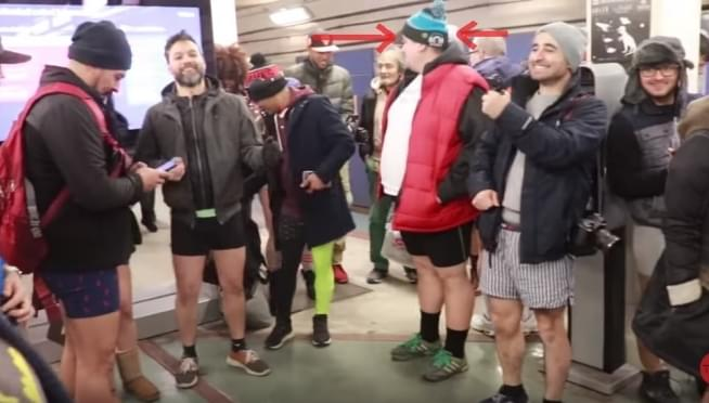 No Pants Subway Ride 2019 photos and video