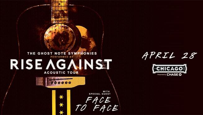 Rise Against announce The Ghost Note Symphonies Acoustic Tour