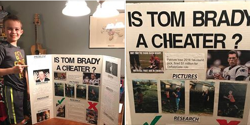 10-year-old won science fair by questioning Tom Brady's legacy