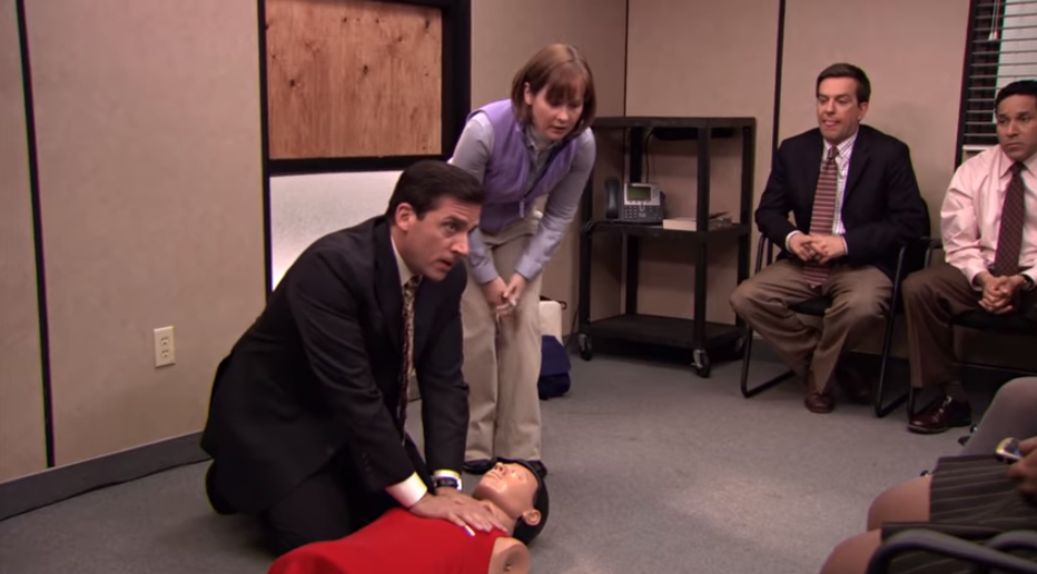 Man saves woman with CPR he learned from 'The Office'