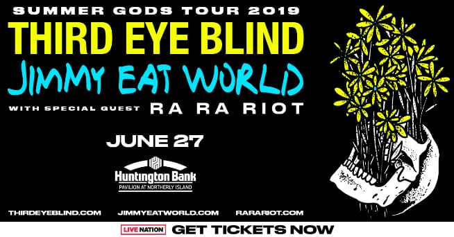 6/27/19 – Third Eye Blind and Jimmy Eat World