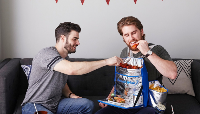Reynolds Wrap Created a Human Feedbag That Lets You Strap Your Snacks to Your Body