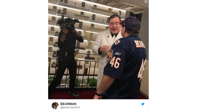Bears superfan picked for Hall of Fans
