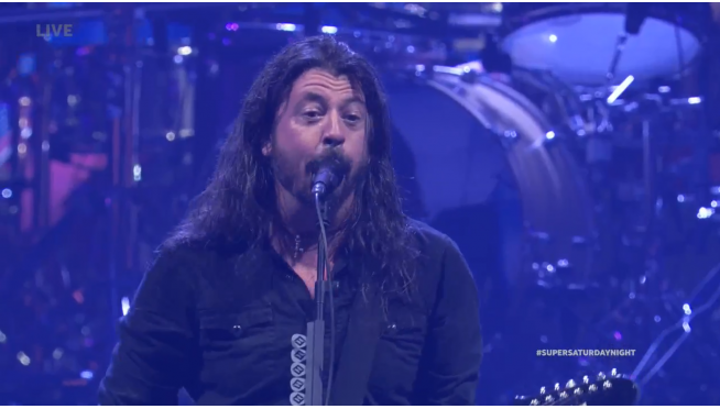 "Replay Foo Fighter's ""Super Saturday Night"" show right here."