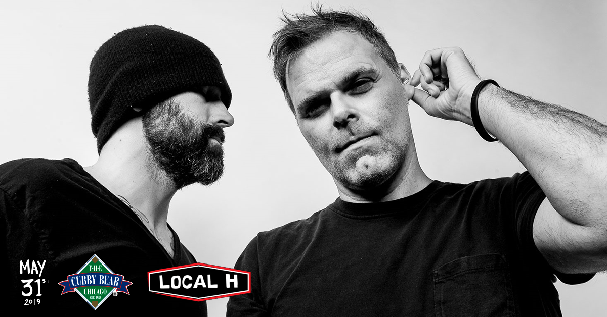 5/31/19 – LOCAL H at Cubby Bear