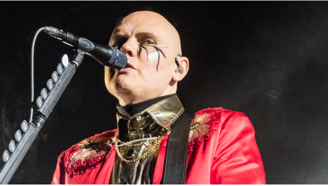 Billy Corgan reunited with his stolen 'Gish' guitar after 27 years