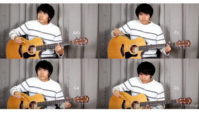 This guys playing 'Bohemian Rhapsody' on guitar with chopsticks [VIDEO]