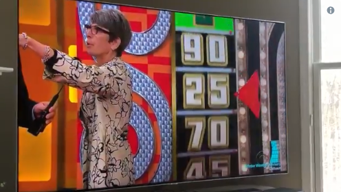 'Price Is Right' woman gives a shout out to her dead husband, who's in her purse.