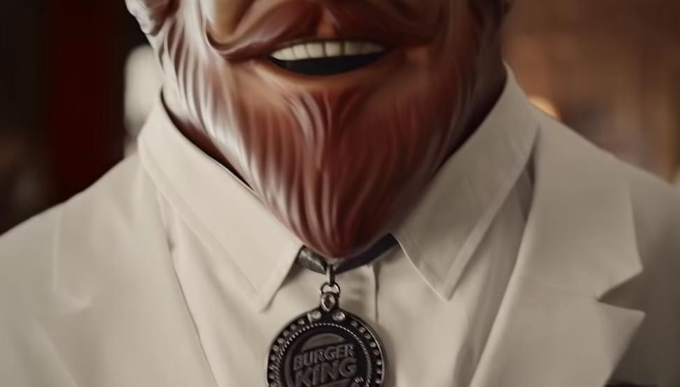Burger King trolls the Colonel