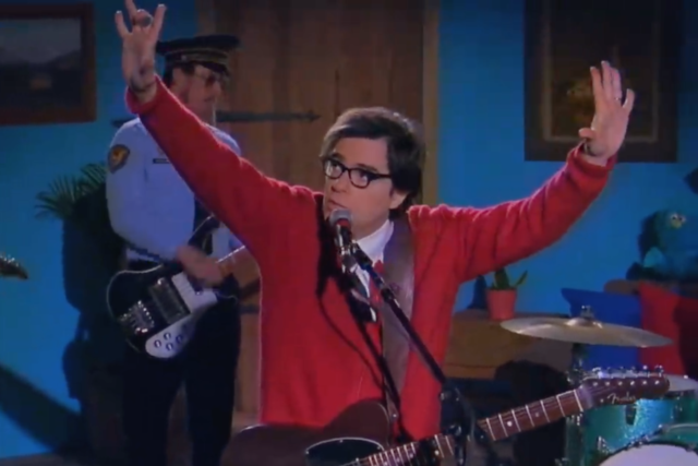 WATCH: Weezer's Mr. Rogers-Themed Video 'High as a Kite'