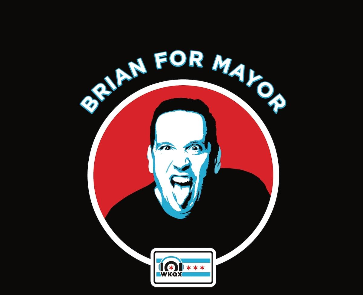 Brian for mayor, the one true candidate for Chicago.