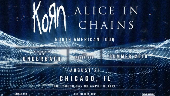 8/21/19 – KoRn and Alice In Chains