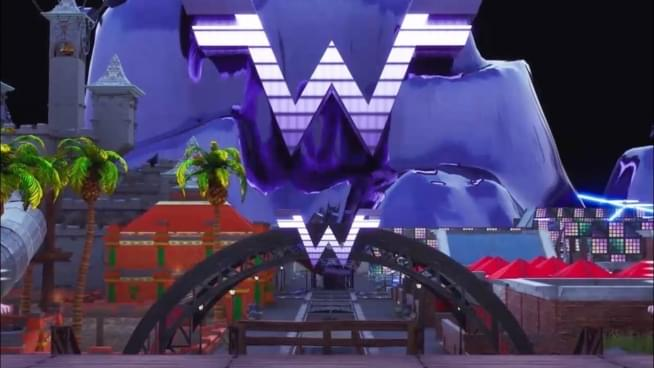 Weezer gets their own world in Fortnite