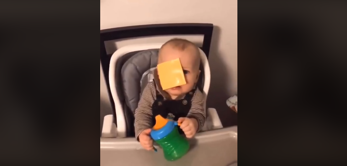 Why are people throwing cheese at babies?