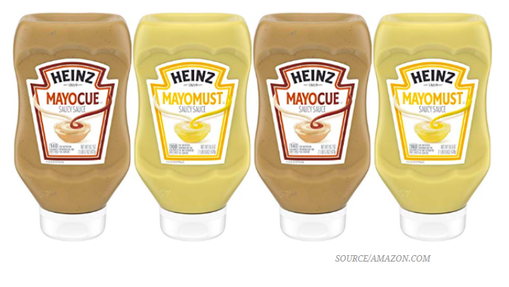 Heinz brought you Mayochup, now get ready for Mayocue and Mayomust