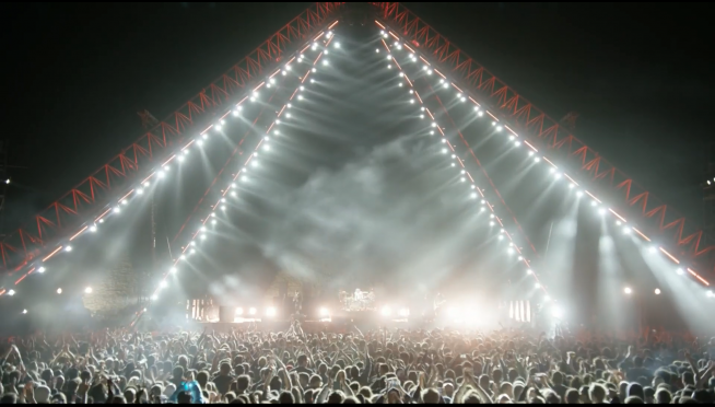 ICYMI: Here's the replay of the Chili Peppers live from the Pyramids.