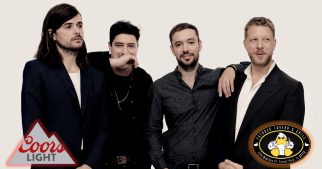 3/28/19 – Join Lauren at Fat Duck Tavern & Grill for a chance to meet Mumford & Sons!