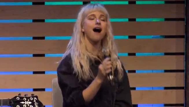 Hayley Williams gets emotional on Paramore's future