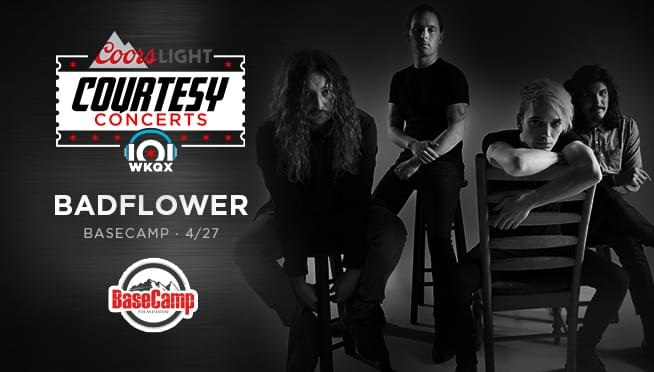 4/26/19 –  Pick up guaranteed entry tickets to see Badflower! from Ali