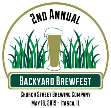5/18/19 – Backyard Brewfest at Church Street Brewing Company