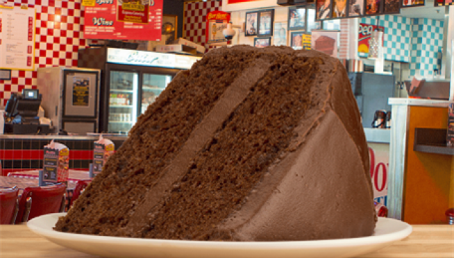 Portillo's Offers 56 Cent Chocolate Cake Slices for B-Day!