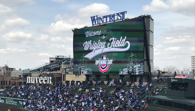 Here's what is new at Wrigley Field, as Chicago celebrates the Cubs home opener.