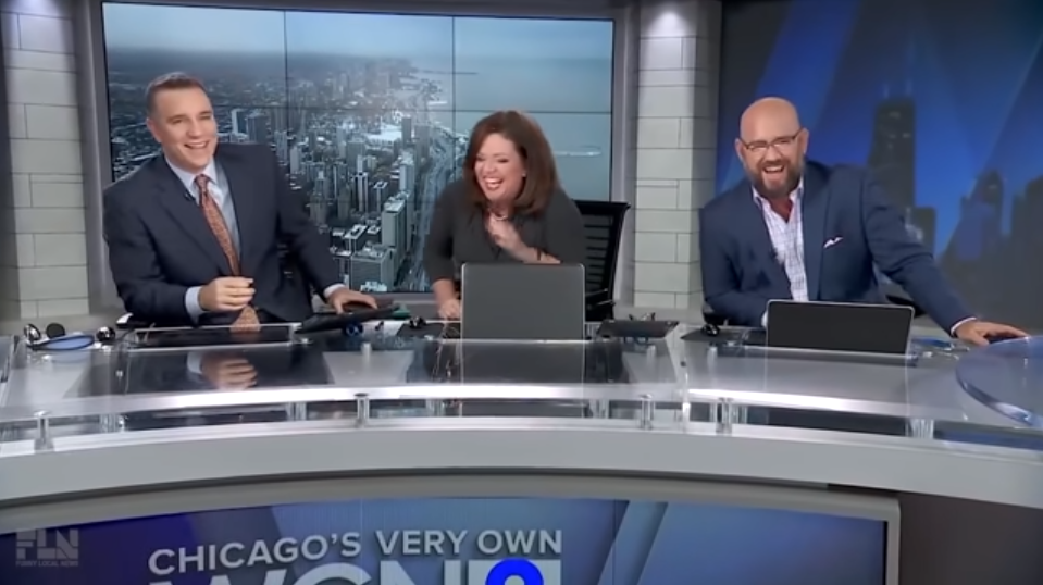 Dare you to not laugh at these news anchors Freudian slips