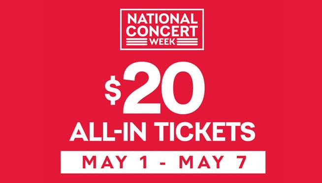 5/1/19 – 5/7/19 – National Concert Week