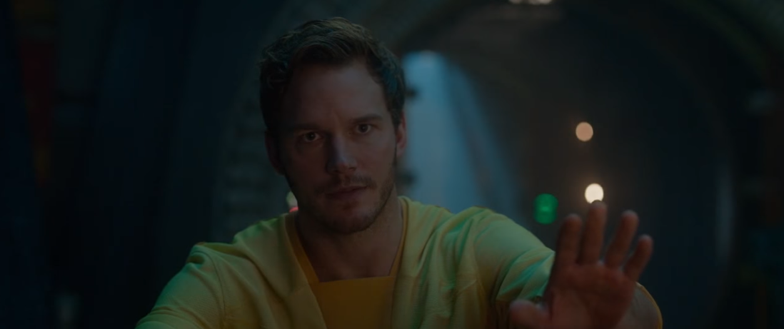 Chris Pratt shares an illegal Avengers: Endgame video