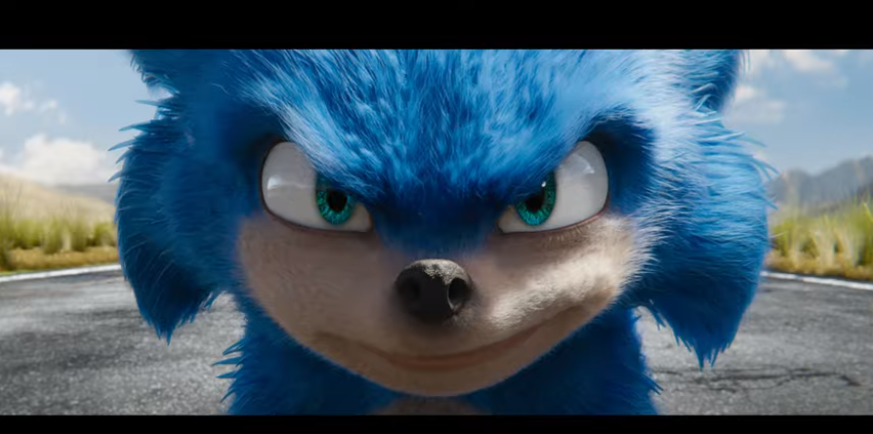 "Official trailer for ""Sonic The Hedgehog"" movie"