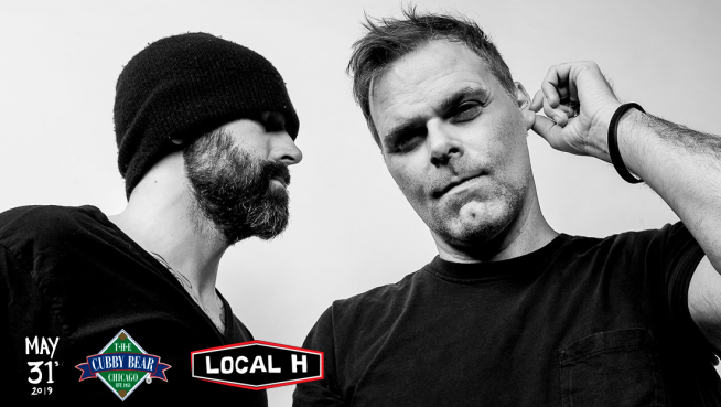 Local H, AM Taxi and Releaser at Cubby Bear May 31st