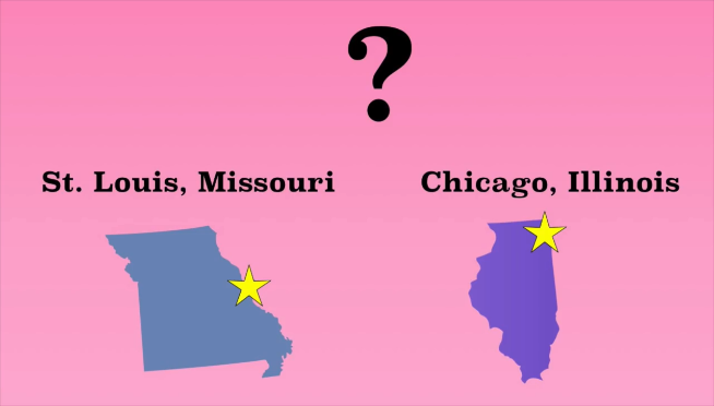 Watch Chicago & St. Louis compared, as if that is something you can do