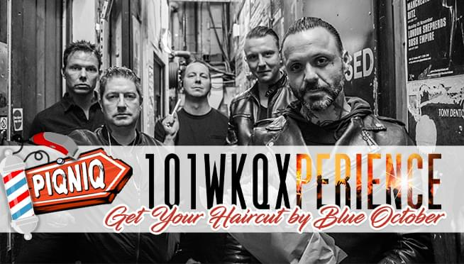 101WKQXperience – Justin (from Blue October) The Barber