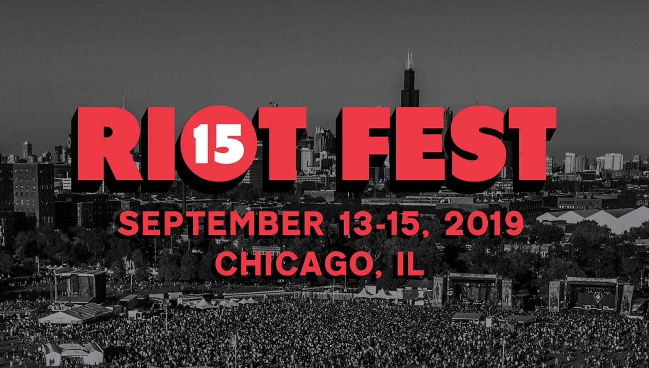 JUST ANNOUNCED: RIOT FEST 2019